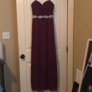 Plumb formal dress